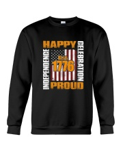 Happy Est 1776 Proud T-shirt Crewneck Sweatshirt thumbnail