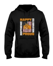 Happy Est 1776 Proud T-shirt Hooded Sweatshirt thumbnail