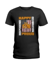 Happy Est 1776 Proud T-shirt Ladies T-Shirt thumbnail