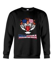 Meowica - Funny Tiger T-shirt Crewneck Sweatshirt thumbnail