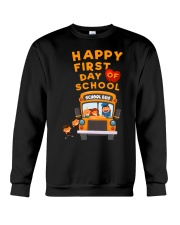 Happy First Day Of School Bus TShirt Crewneck Sweatshirt thumbnail