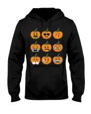 Nice Face Of Pumpkin Emoji TShirt Hooded Sweatshirt thumbnail