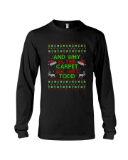 And Why Is The Carpet All Wet Todd T-shirt Long Sleeve Tee tile
