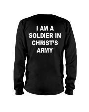 I am a soldier in Christ's army blacj Long Sleeve Tee thumbnail