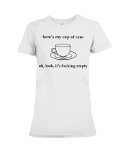 Here's my cup of care oh look it's fl Premium Fit Ladies Tee thumbnail