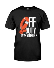 Lifeguard Rescue Swimmer  Classic T-Shirt front