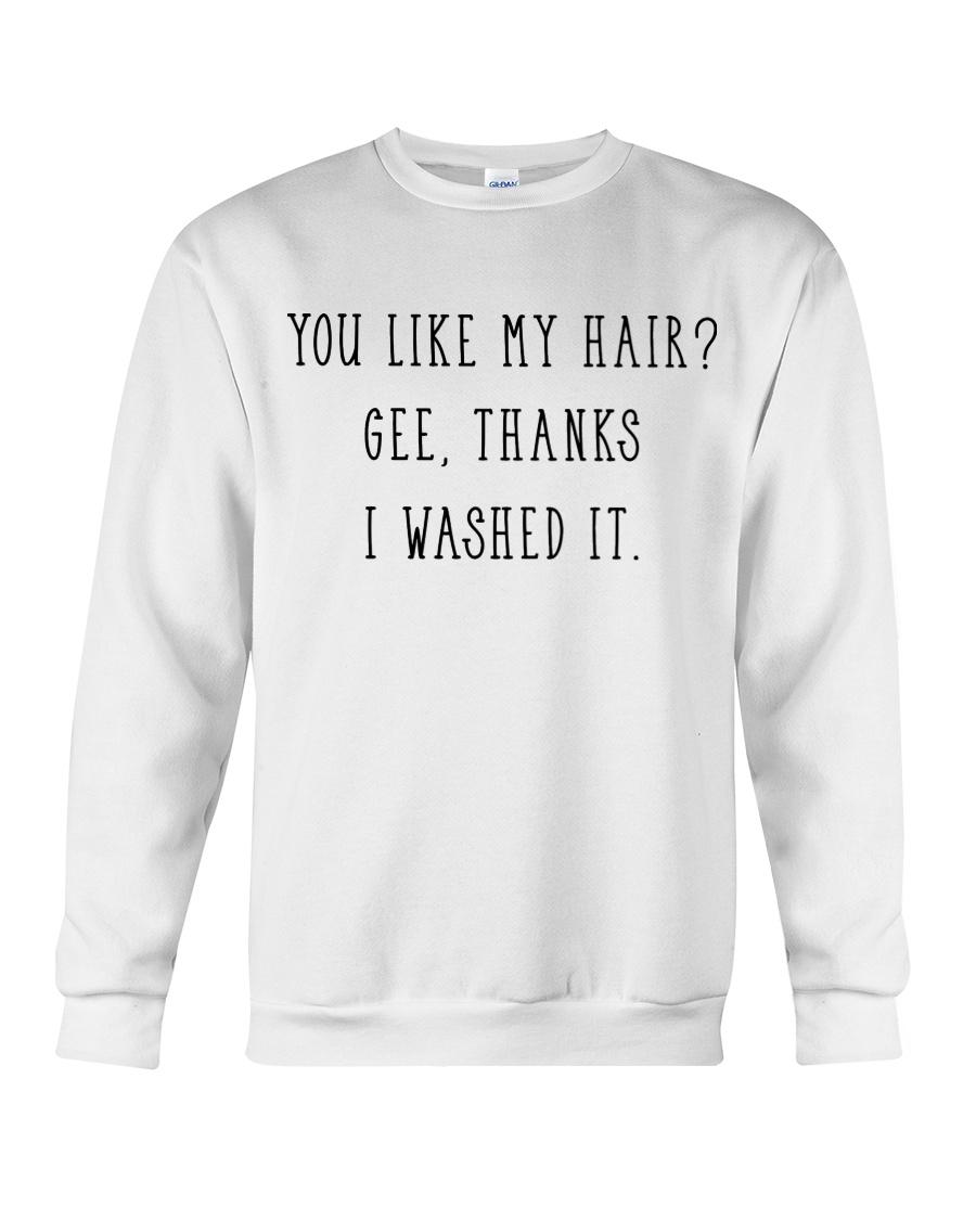 Afro Woman You Like My Hair Crewneck Sweatshirt