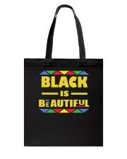 Black Is Beautiful African American Pride Tote Bag thumbnail