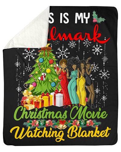 Christmas Sherpa Fleece Blanket