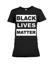 Giyuan Black Lives Matter Premium Fit Ladies Tee tile