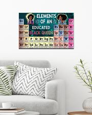 Black Queen Educated 24x16 Poster poster-landscape-24x16-lifestyle-01