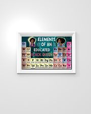 Black Queen Educated 24x16 Poster poster-landscape-24x16-lifestyle-02
