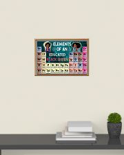 Black Queen Educated 24x16 Poster poster-landscape-24x16-lifestyle-09
