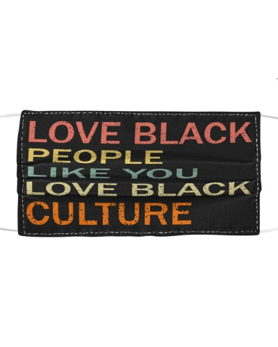 Love Black people Mask