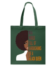 Be A Black Queen Beautiful And Magic Tote Bag thumbnail