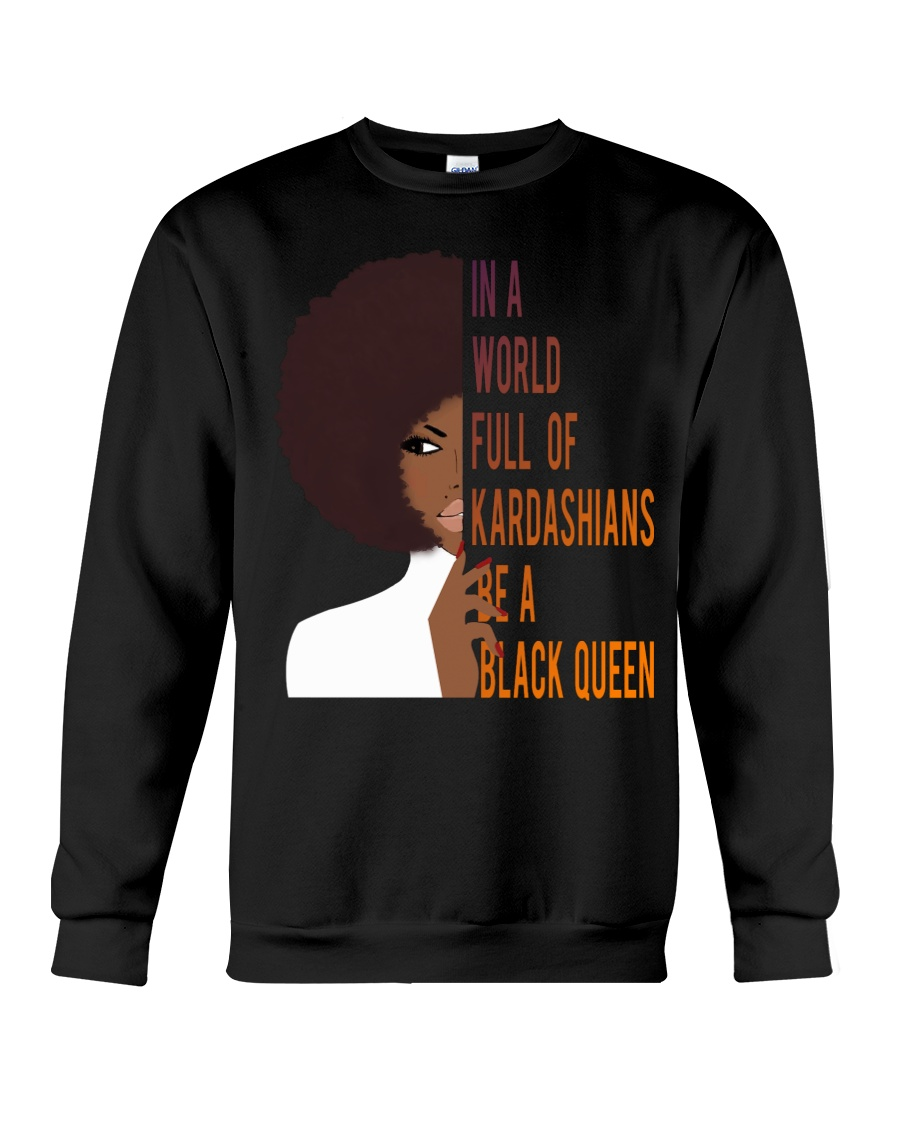Be A Black Queen Beautiful And Magic Crewneck Sweatshirt