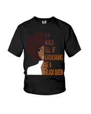 Be A Black Queen Beautiful And Magic Youth T-Shirt thumbnail