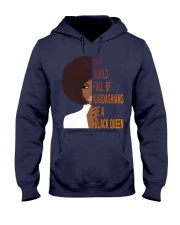 Be A Black Queen Beautiful And Magic Hooded Sweatshirt thumbnail
