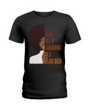 Be A Black Queen Beautiful And Magic Ladies T-Shirt thumbnail