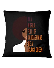 Be A Black Queen Beautiful And Magic Square Pillowcase thumbnail