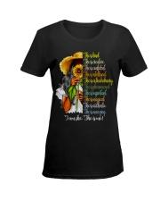 I am She Ladies T-Shirt women-premium-crewneck-shirt-front