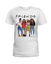 Melanin Women And Afro Hair Ladies T-Shirt front