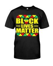 Black Lives Matter TT22 Classic T-Shirt front
