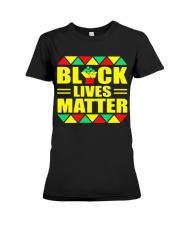 Black Lives Matter TT22 Premium Fit Ladies Tee thumbnail
