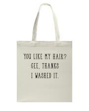 Afro Natural Hair Pride Tote Bag thumbnail