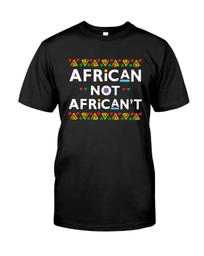 African Not African't