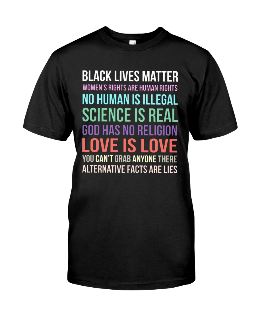 Black Lives Matter 25 Classic T-Shirt