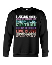 Black Lives Matter 25 Crewneck Sweatshirt thumbnail