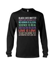 Black Lives Matter 25 Long Sleeve Tee thumbnail