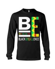 Black Excellence 2 Long Sleeve Tee thumbnail