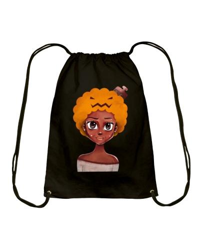 Pumpkin Afro Hair