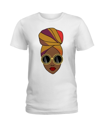 Black Girl With Headwrap