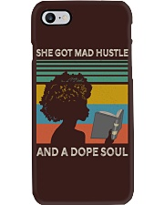 Black Woman And A Dope Soul Phone Case thumbnail