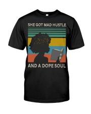 Black Woman And A Dope Soul Classic T-Shirt thumbnail