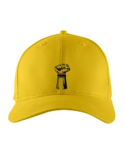 Black Power Fist Hat Embroidered Hat front