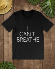 Mens I Cant Breathe and Black Lives Matter Classic T-Shirt lifestyle-mens-crewneck-front-18