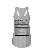 Melanin Caribbean Girl Ladies Flowy Tank thumbnail
