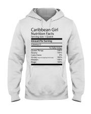 Melanin Caribbean Girl Hooded Sweatshirt thumbnail