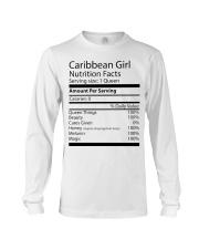 Melanin Caribbean Girl Long Sleeve Tee thumbnail