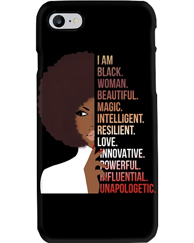 I Am Black Woman With Curly Hair