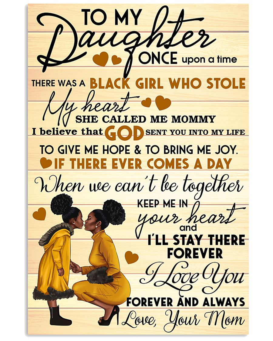 Mom and Daughter 24x36 Poster