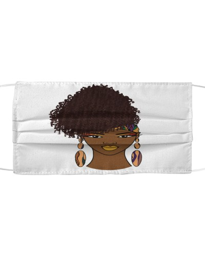 Natural Hair Beauty T-shirt For Afro Woman