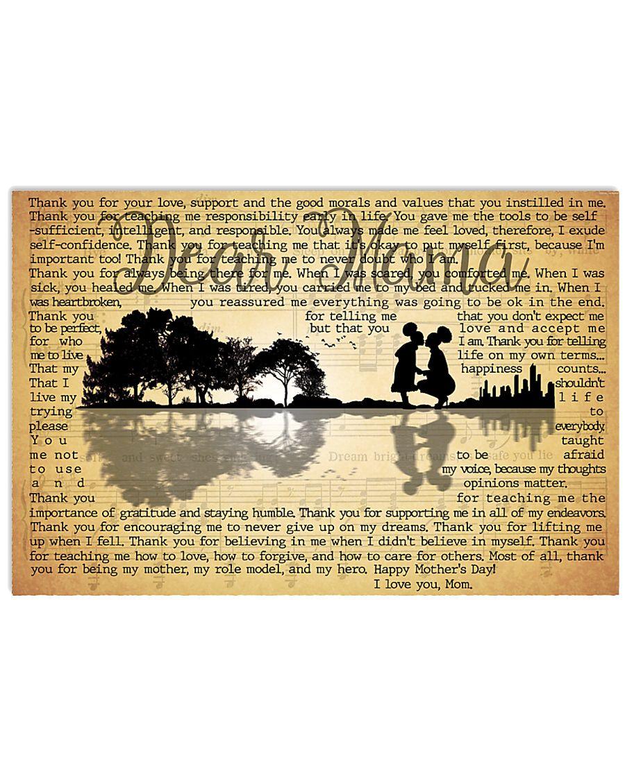 Dear Mama 17x11 Poster