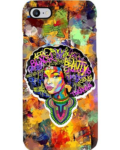 Dashiki Melanin Queen And Afro Hair