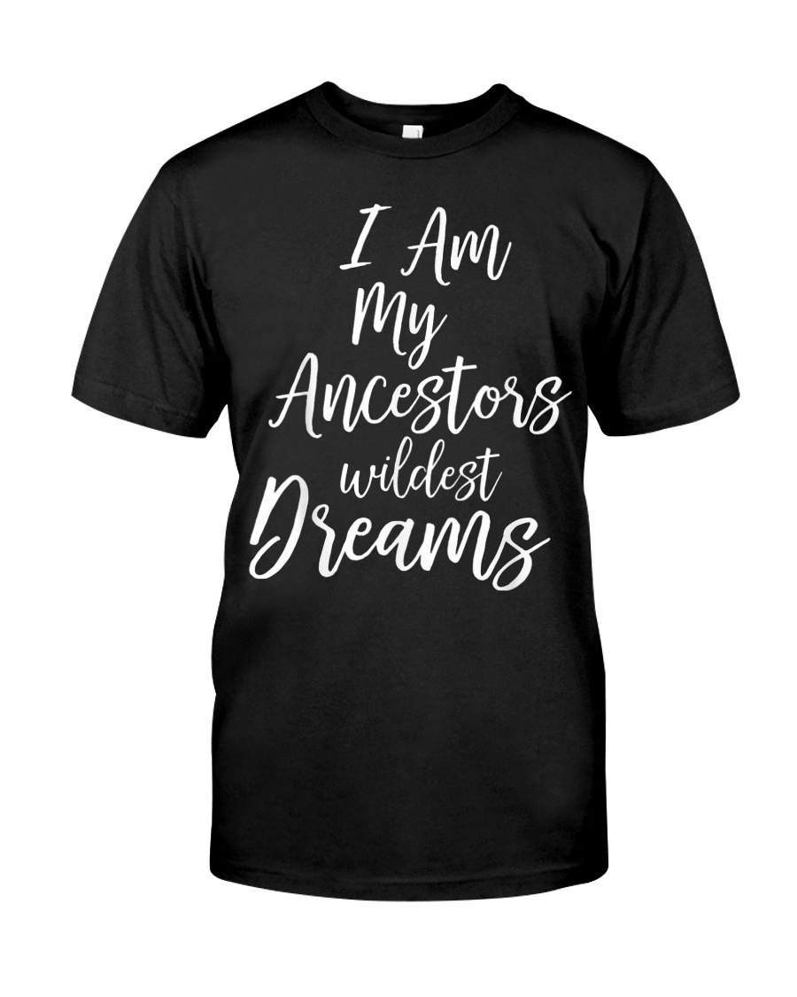 Black History Quote Classic T-Shirt