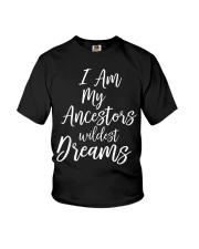 Black History Quote Youth T-Shirt thumbnail